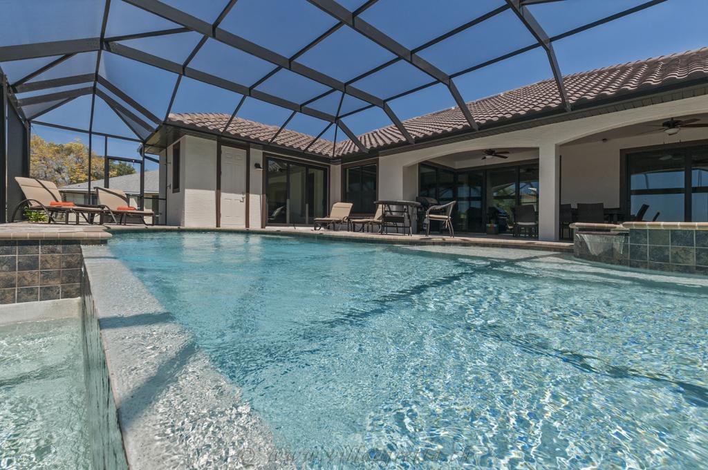 Villa Egretta Beltramonto Ansicht Swimmingpool